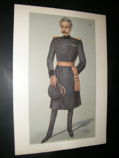 Vanity Fair Print 1902 The Earl Of Dundonald, Military | Albion Prints